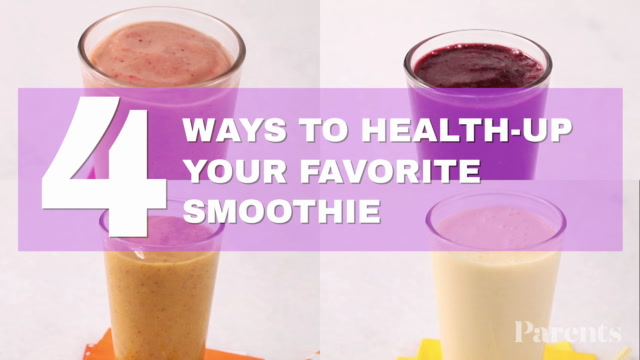 4 Ways to Make Your Favorite Smoothie Healthier