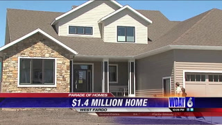 FM Parade of Homes in West Fargo featured a house with a million dollar price tag