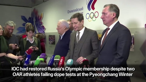 Russia reacts to IOC reinstating the country into the Olympic movement