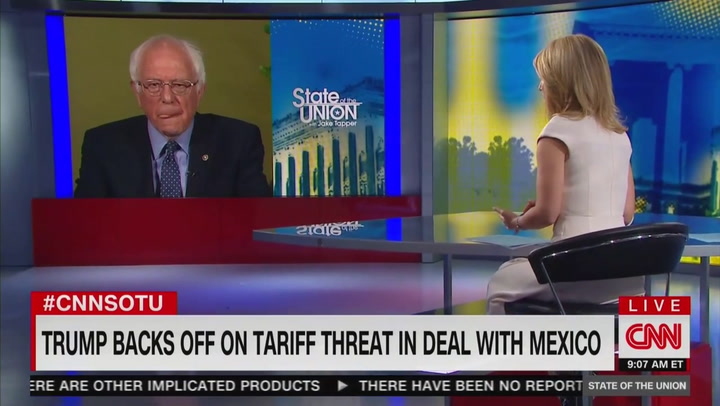 Bernie Sanders: Surge of Migrants at Border Is 'Serious Problem' But Not a 'Crisis'