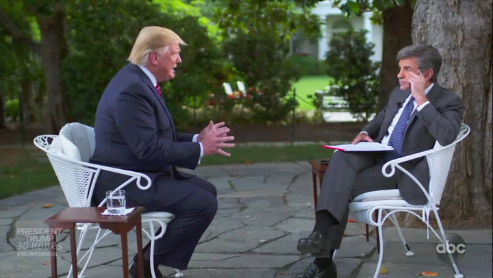 Highlights from ABC News' 30 hours with Trump