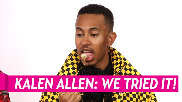 YouTube Sensation Kalen Allen Plays 'We Tried It': See What He Thinks of Mochi, Flavored Seaweed and More