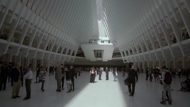 For One Day a Year, The Oculus Opens Its Eye to The Sky