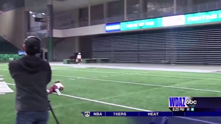 UND softball at a stall mid-season due to weather