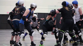 30 seconds with a Harbor City Roller Dame