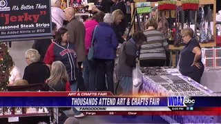 Over 300 vendors invade the Fargodome for 'Big One Art and Crafts Fair'