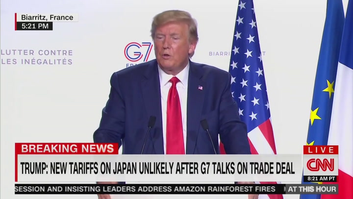 Trump at G7 Blames Everybody but Putin for Crimea Annexation