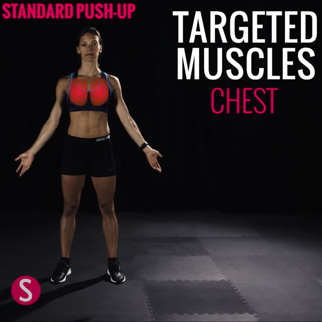 Moves and Muscles: Standard Push-Up