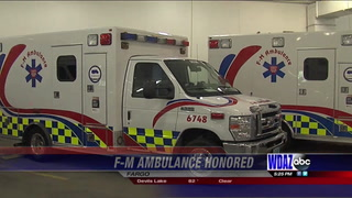 "F-M Ambulance receives ""Mission: Lifeline"" Gold award"