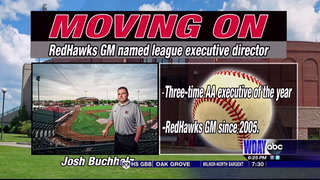 RedHawks general manager Buchholz named executive director of American Association