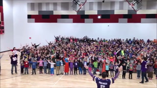 SKOL Chant at Lakeland Elementary, Willmar