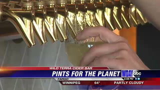 Local cider bar hosts earth day event