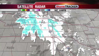 StormTRACKER Saturday Night Snow Update