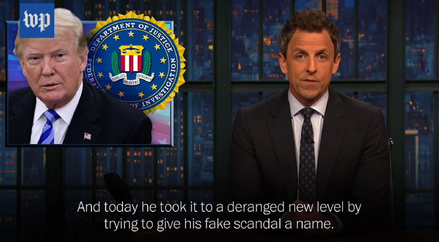 Late-night Laughs: Hosts take on 'Spygate' conspiracy theory