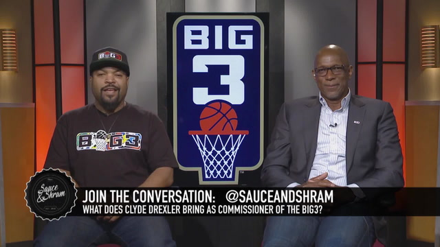 Ice Cube and Clyde Drexler Talk With Sauce and Shram