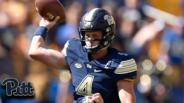 Pitt QB Max Browne 410 Yards, 4 TD vs. Rice