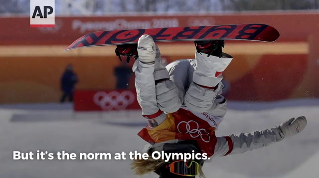 Some Olympic Athletes Have an Upside Down View