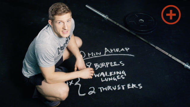 Workout Of The Day - 10 Minute AMRAP with Brent Fikowski