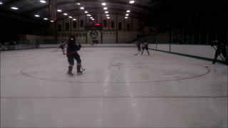 Park girls hockey works in the offensive zone