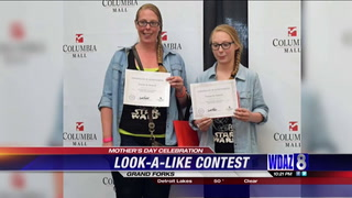 The winners of the Columbia Mall's look-a-like contest