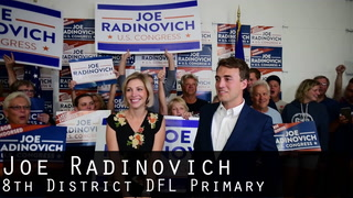Joe Radinovich 8th District DFL Primary