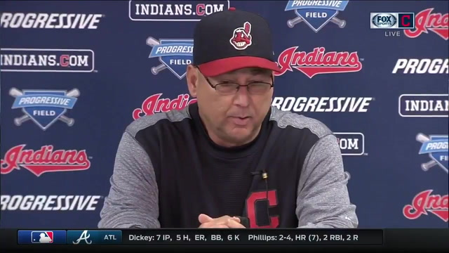 After loss, Francona jokes he may keep his uniform on for tomorrow