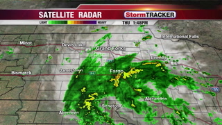 Tracking Ongoing Rain South & Thunderstorms North