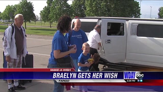 Make-a-Wish Foundation grants a wish to West Fargo leukemia patient
