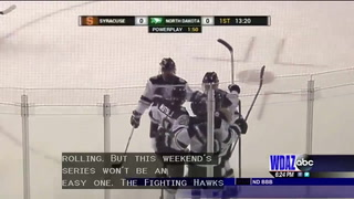 UND women's hockey preparing for #1 ranked Wisconsin