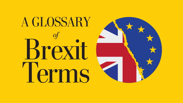 Three terms you need to know to understand Brexit