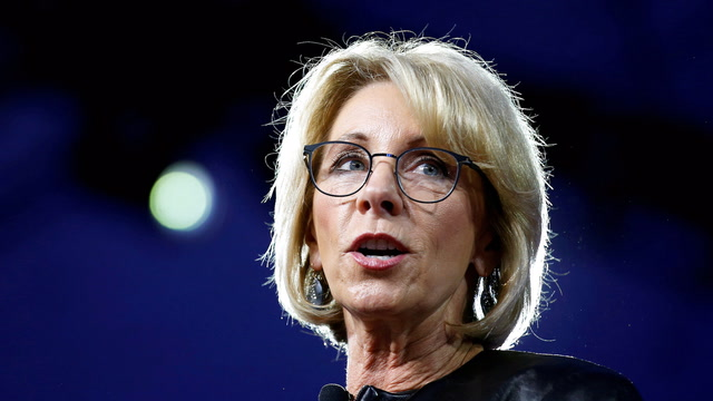 DeVos says her goal is to get government 'out of your way'