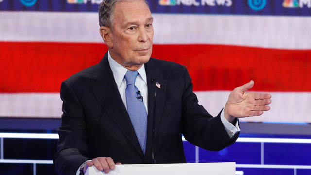 Mike Bloomberg got his first taste of the debate stage. It didn't go well for him.