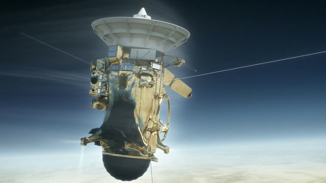 A History of Cassini, the Spacecraft NASA Crashed Into Saturn