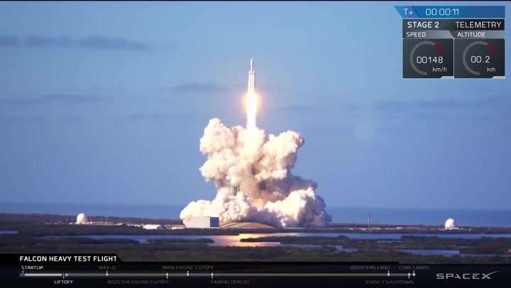 Watch All 21 of SpaceX's 2018 Rocket Launches in This Beastly Supercut