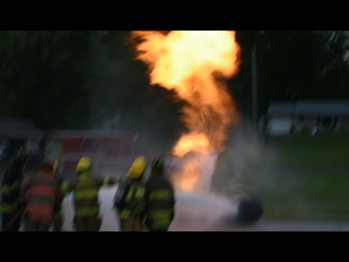 Area fire fighters train to certify in managing propane emergencies