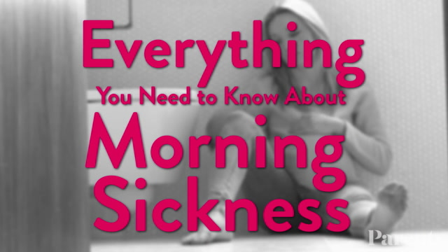 Everything You Need to Know About Morning Sickness