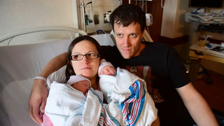 Twins Welcome New Year
