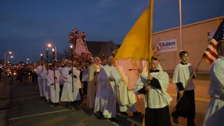 Public Rosary Procession by Brainerd Area Catholic Churches