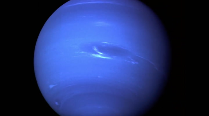 Hubble Captures the Death of a Giant Fart Storm on Neptune
