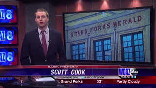Historic Grand Forks Herald building up for sale