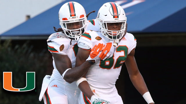 Miami WR Ahmmon Richards Torches the Blue Devils