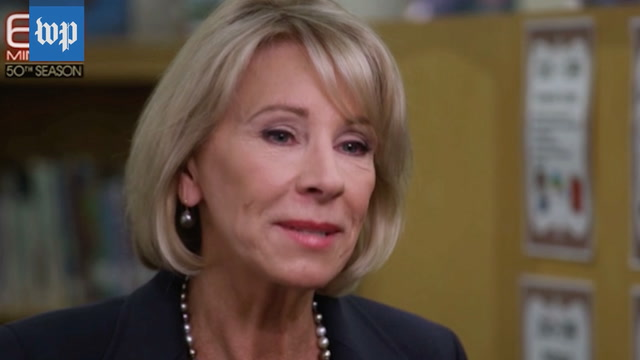 Betsy DeVos's stumbling '60 Minutes��� interview, annotated