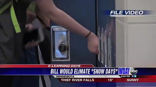 Snow days may be eliminated by e learning