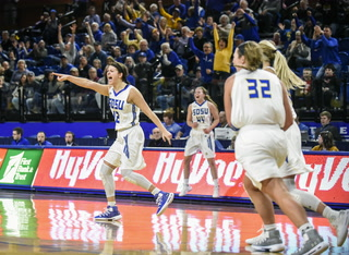 SDSU's Macy Miller closing in on all-time scoring record