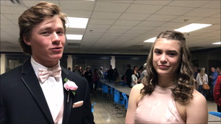 Woodbury and Park High School students explain their promposals