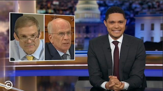 Late-night hosts react to first public impeachment hearing
