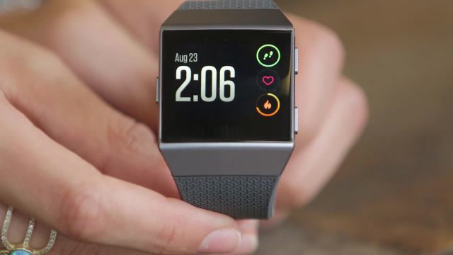 A quick look at the new Fitbit Ionic smartwatch