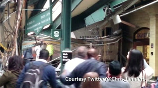 More than 100 injured in New Jersey train crash