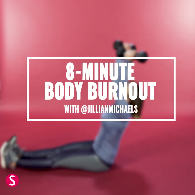 8-Minute Workout VIdeo from Jillian Michaels