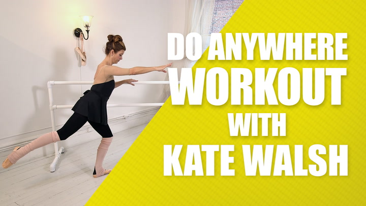 Kate Walsh Shows Us How to Get a Lifted Butt and Strong Legs With Ballet Beautiful